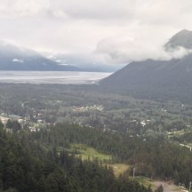 View from Mount Alyeska