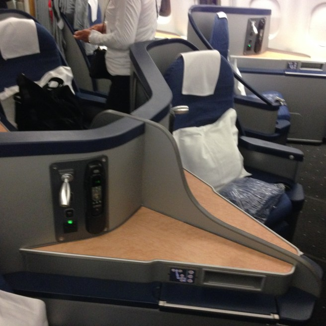 Envoy Suites class on US Airways A330-200