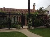 Our patio at the Boscolo Venezia