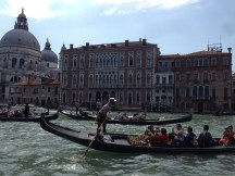 Grand Canal outside the Gritti Palace