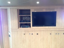 Entertainment Center and pullman bed