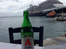 An Alpha Beer with the Nieuw Amsterdam