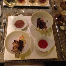 Trail of Spices Satay Sampler at Tamarind