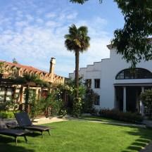 Garden rooms with patios