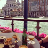 Drinks at the Gritti Palace Hotel