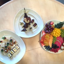Fruit and Canapes
