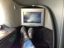 United Global First Class SYD-SFO