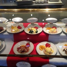 Eggs Benedict Bar at Lido Restaurant