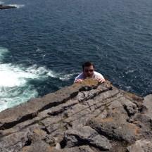 Hanging out at Dun Aonghasa