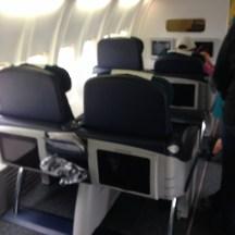Aer Lingus B757-200 Business Cabin