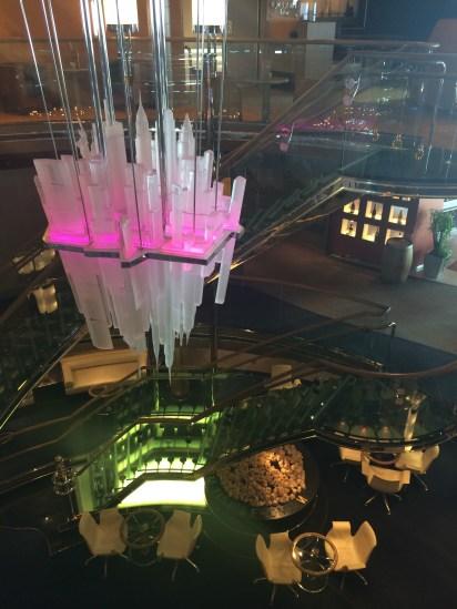 NYC sculpture in the Atrium
