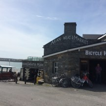 The bicycle shop in Inishmore