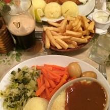 Dinner at Finnegans Corner