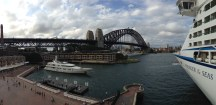Campbell's Cove and the Sydney Harbour Bridge