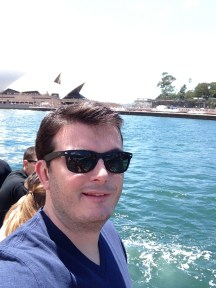 Me at Sydney Opera House