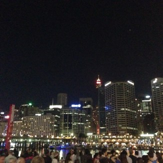 Night time at Darling Harbour