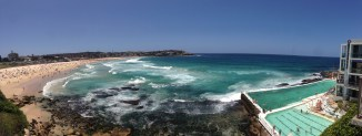 Panorama of Bondi and Iceberg's