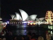 Night shot of Opera House