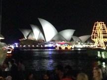 Night shot of Opera House