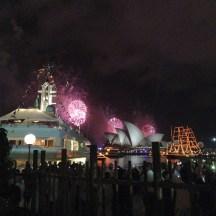 The rest of Sydney Harbour erupts!
