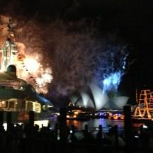 So many fireworks, so much smoke!