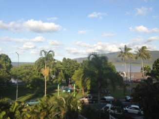 Cairns from the Holiday Inn