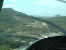 Final Approach into Lizard Island