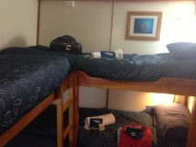 Our Quad Bunk Room