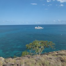Spirit of Freedom off Lizard Island