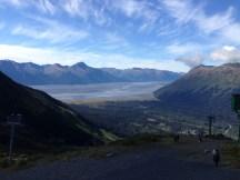 Turnagain Arm from Mt. Alyeska