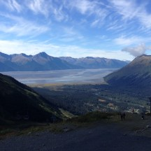 Turnagain Arm from Mt. Alyeska