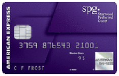 The Starwood Preferred Guest®Credit Card from American Express