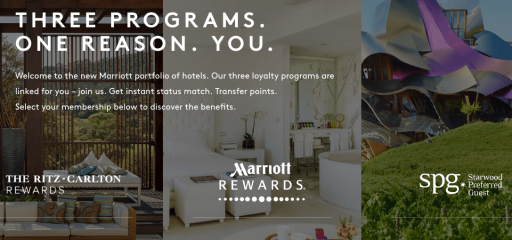 link your marriott and starwood accounts