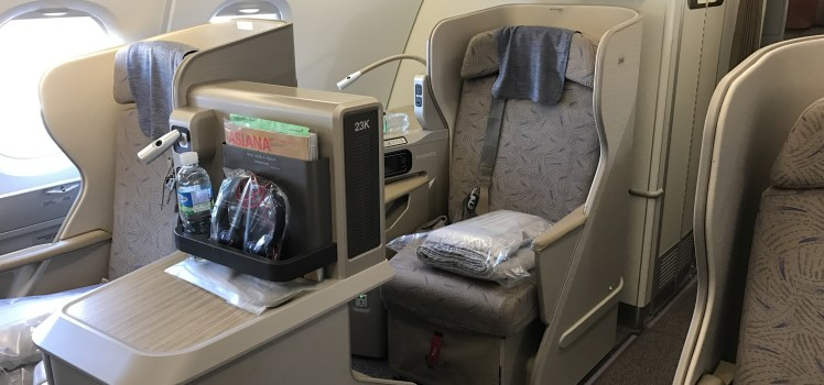 Trip Report Asiana Airlines A380 Business Class Review