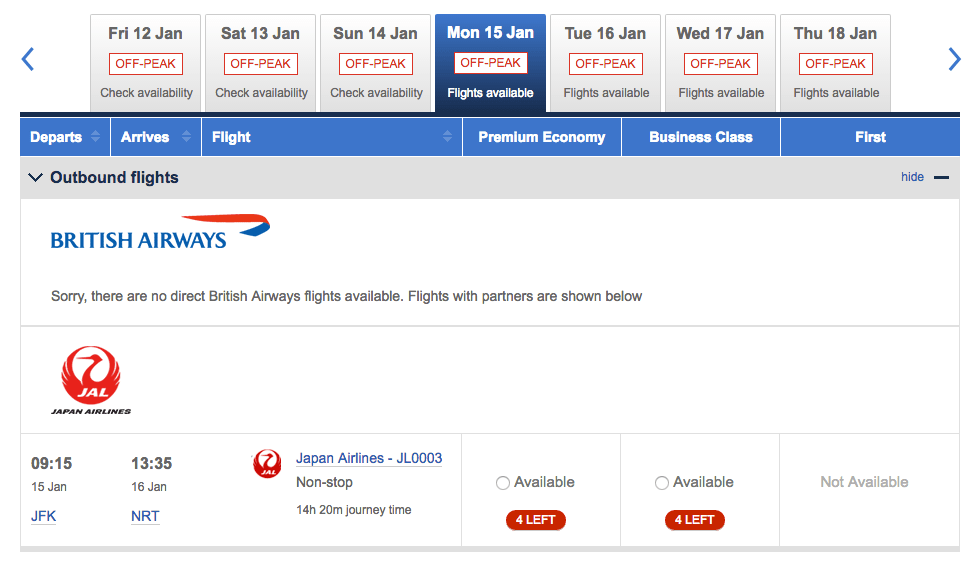 redeem american airlines asia