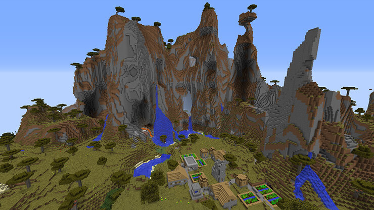 giant hills village seed