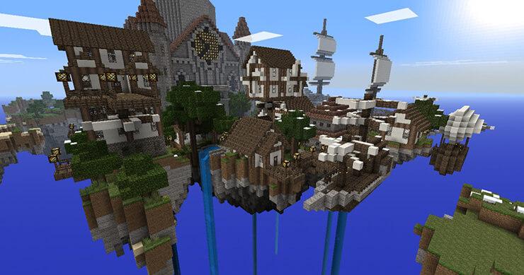 sky city minecraft