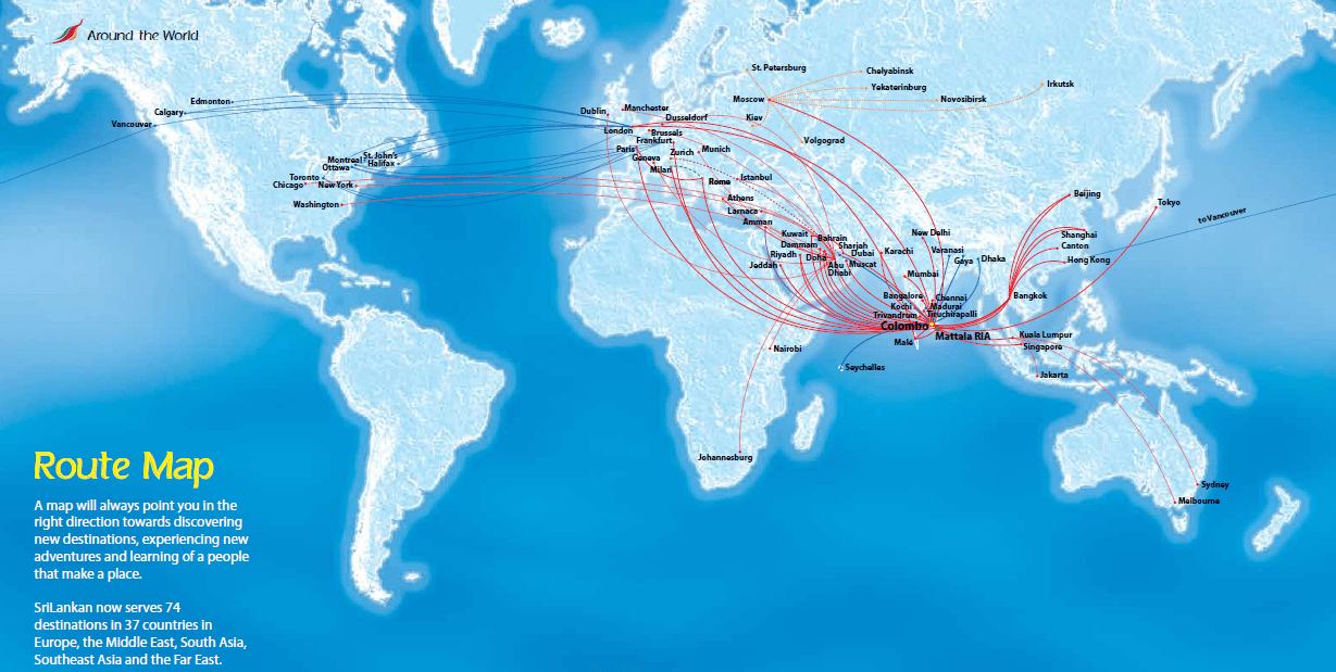 Sri Lankan Airlines joins Oneworld today | Points to be Made