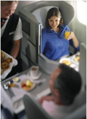 British Airways Club World. From ba.com