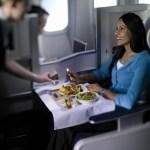 British Airways Club World dining