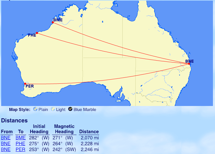 EVERY Oneworld flight marginally over 2000 miles. Your ...