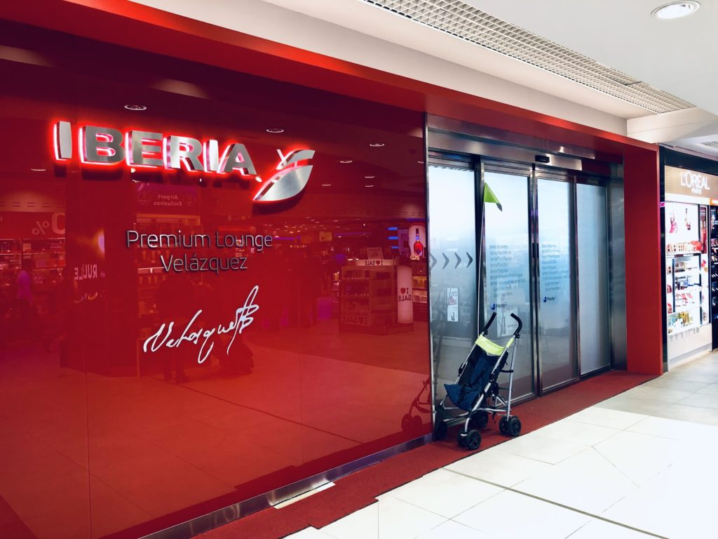 My review of Iberia Business Class Lounge at Madrid - Terminal 4S | Points to be Made