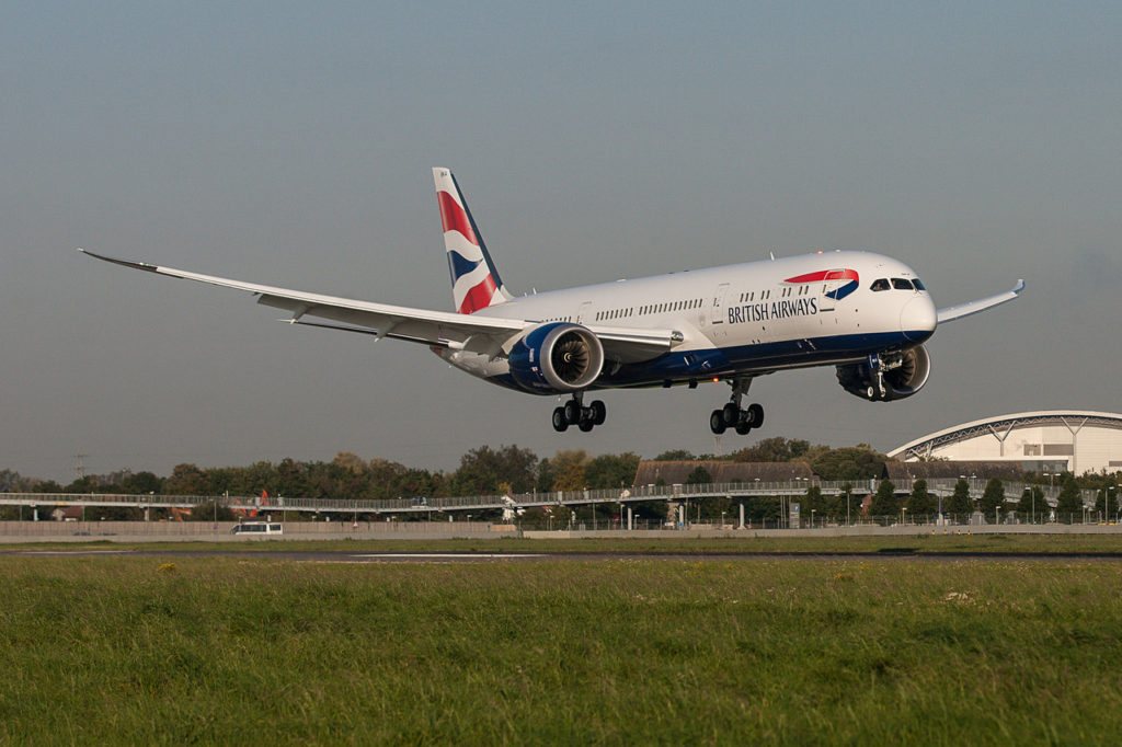 British Airways Boeing 787-900 Dreamliner