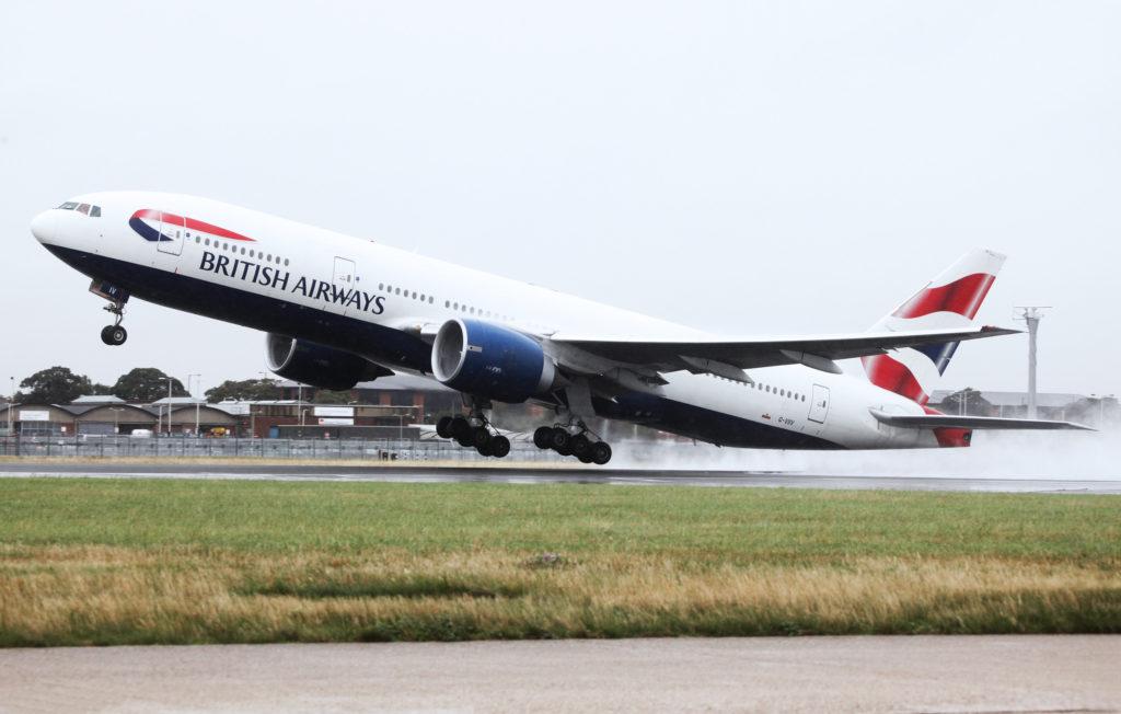 British Airways Boeing 777-200 G-VIIV