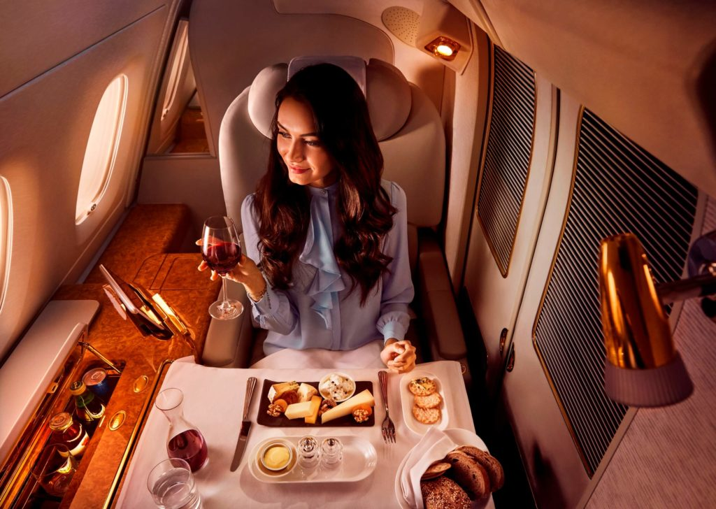 Warsaw to Asia in First Class with Emirates starting from €2,848/£2,415 | Points to be Made