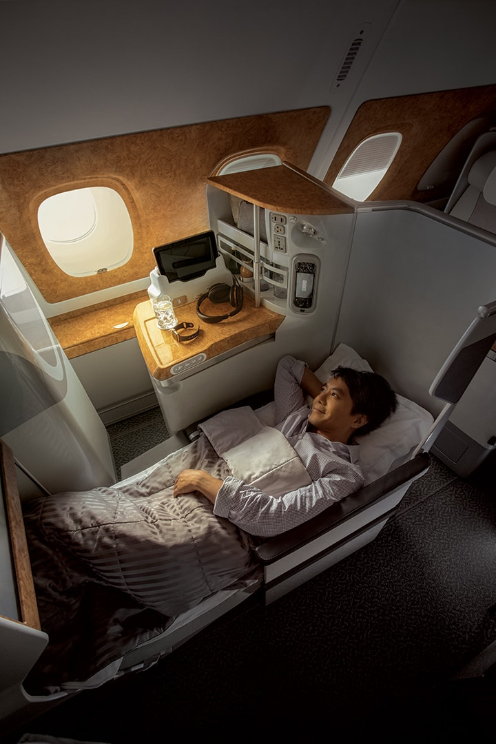 Far-East Asia to Dubai Non-Stop Business Class with Emirates starting from €1,123/$1,230