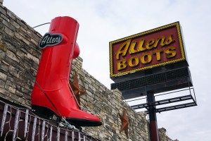 Allens Boots on South Congress St