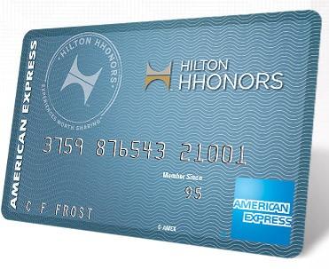 American Express Hilton HHonors Card