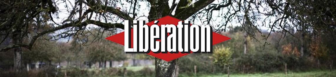 Photo de une de l'article de Libération sur le Poiré Domfront