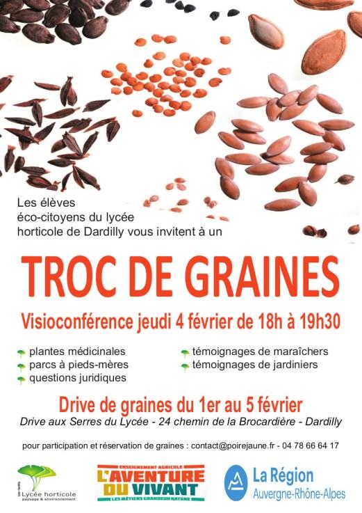 Affiche Troc de graines 2021